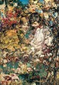 Girls Gathering Mushrooms - Edward Atkinson Hornel