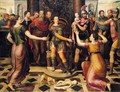 The Judgement Of Solomon - (after) Anthonie Claeissins