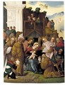 The Adoration Of The Magi - Ludovico Mazzolino