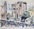 Place Animee A Albi - Paul Signac