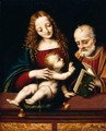 The Holy Family - Marco D'Oggiono