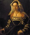 Portrait Of A Noblewoman, Said To Be Vittoria Colonna (1492-1547) - Florentine School