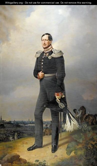 Portrait Of Friedrich Wilhelm III, King Of Prussia (1770-1840) - Franz Kruger