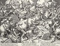The Fight Of The Money-Bags - (after) Pieter The Elder Bruegel