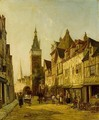 Rue Delle Cicogne, Dieppe - William Raymond Dommersen