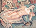 At Leisure (Portrait Of Wilma Toosby) - Alice Bailly