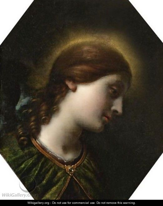 The Archangel Gabriel - (after) Carlo Dolci