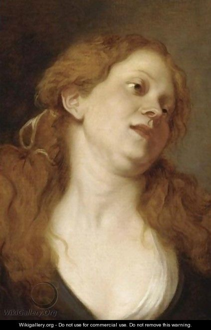 A Trony Of A Woman - (after) Dyck, Sir Anthony van