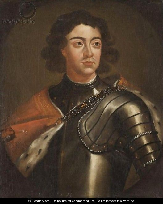 Portrait Of Peter The Great - (after) Kneller, Sir Godfrey