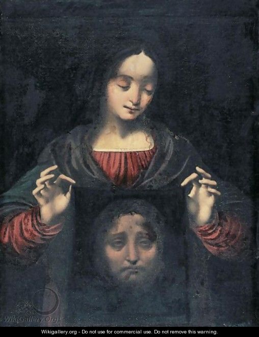Saint Veronica With Her Veil - (after) Marco D