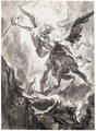 Saint Michael The Archangel Slaying Satan - (after) Georg Wilhelm Neunhertz