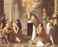 The Last Sacrament Of Saint Jerome - North-Italian School