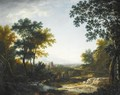 An Extensive Italianate Landscape - French School