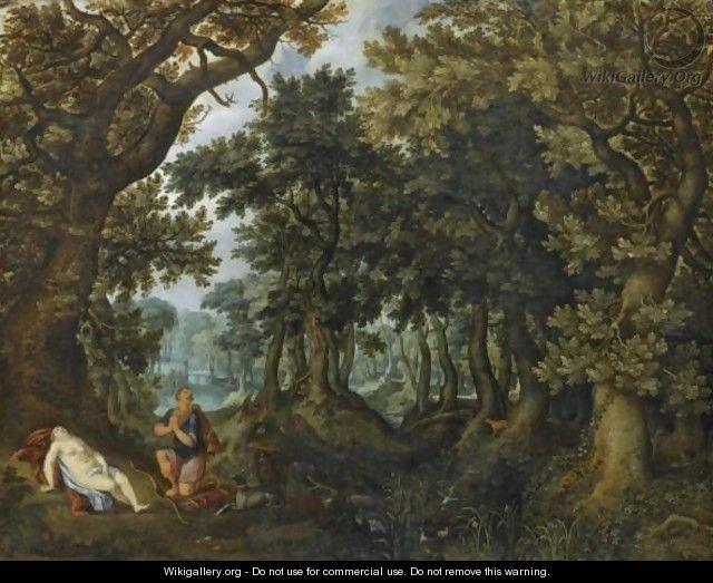 Cephalus And Procris - Denys Van Alsloot