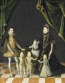 Group Portrait Of The Family Of Carlo Emanuele, Duke Of Savoy (1562 - 1630) - (after) Alonso Sanchez Coello