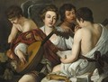 The Musical Party - (after) Michelangelo Merisi Da Caravaggio