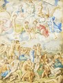 The Last Judgement - Giorgio-Giulio Clovio
