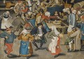 The Wedding Dance 3 - Pieter The Younger Brueghel