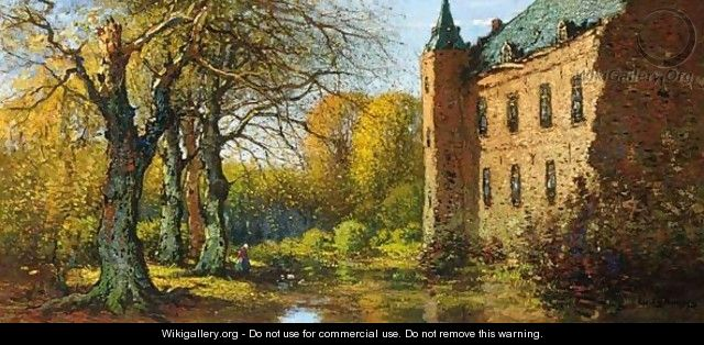 A View Of The Castle Of Doorwerth - Cornelis Kuypers