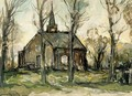 A Church In A Landscape - Louis Apol