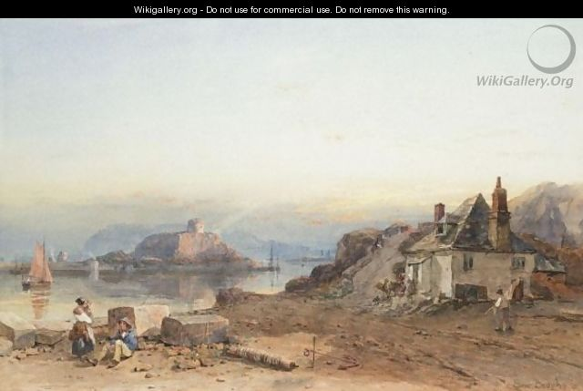 Evening By The Sea - Samuel Bough