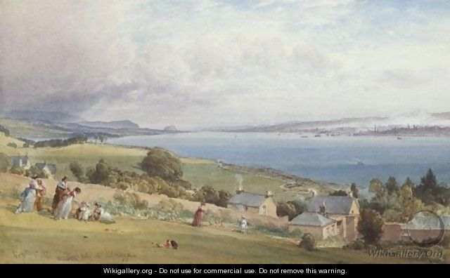 Flushfield At Kilcreggan - William Leighton Leitch