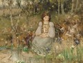 A Woodland Princess - Thomas Bromley Blacklock