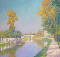 A View Of A Canal, France - Paul Mathieu