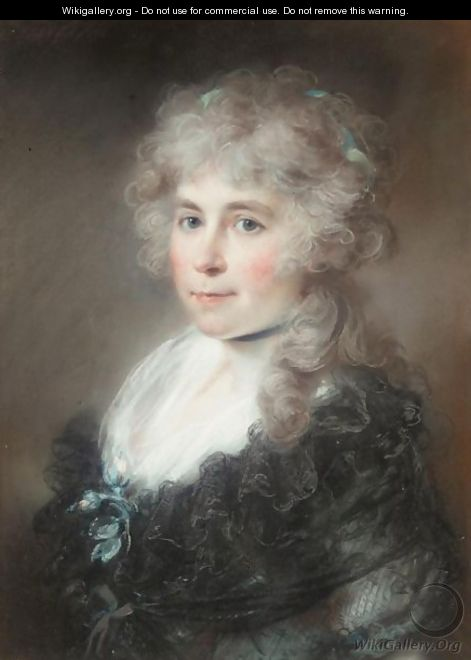 Portrait Of A Lady 4 - John Russell
