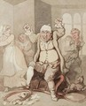 The Enraged Master - Thomas Rowlandson