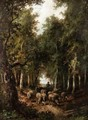 Driving The Sheep Through The Woods - A. Manzoni