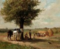 In The Shade Of The Tree - Jules Jacques Veyrassat