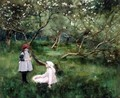In The Orchard - Margaret Bird