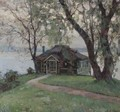 A Cottage By The River - Luis Graner Arrufi