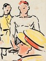 Darling, The Brass Hat - Francis Campbell Boileau Cadell