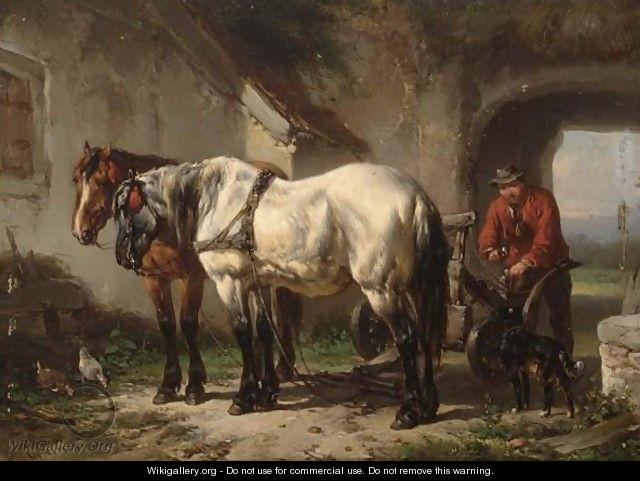 Preparing For The Fields - Wouterus Verschuur