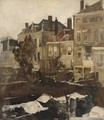 View From The Artist A´s Studio On The Scheveningseweg, The Hague - Johan Antonio de Jonge