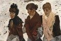 Girls In The Snow - George Hendrik Breitner