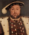 Portrait Of King Henry VIII 3 - (after) Holbein the Younger, Hans