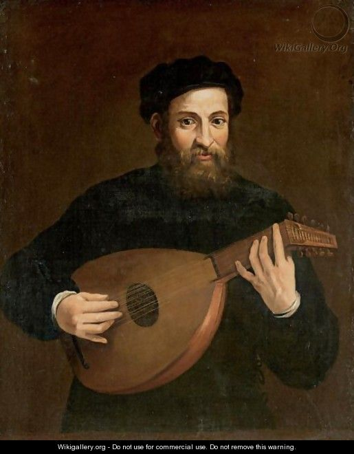A Lute Player - North-Italian School