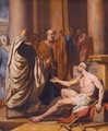 Saints Paul And Barnabas Healing The Cripple At Lystra - French School