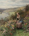 Daydreaming 2 - Daniel Ridgway Knight