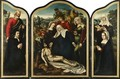 A Triptych Of The Lamentation - Ambrosius Benson