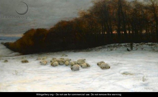 When Snow The Pasture Sheets 3 - Joseph Farquharson