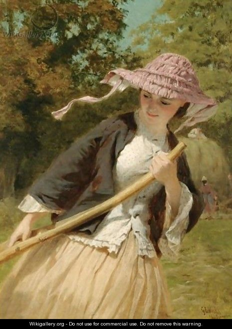 The Haymaker - George Elgar Hicks