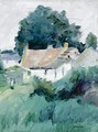 Cottages In Fife - George Leslie Hunter