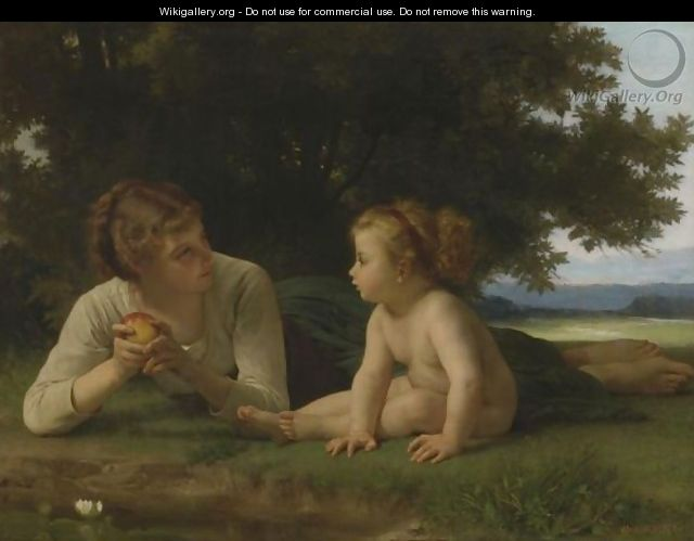 La Tentation - William-Adolphe Bouguereau