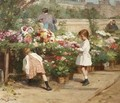 The Young Flower Seller - Victor-Gabriel Gilbert