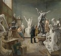 The Sculptor's Studio - Philippe Parrot-Lecomte