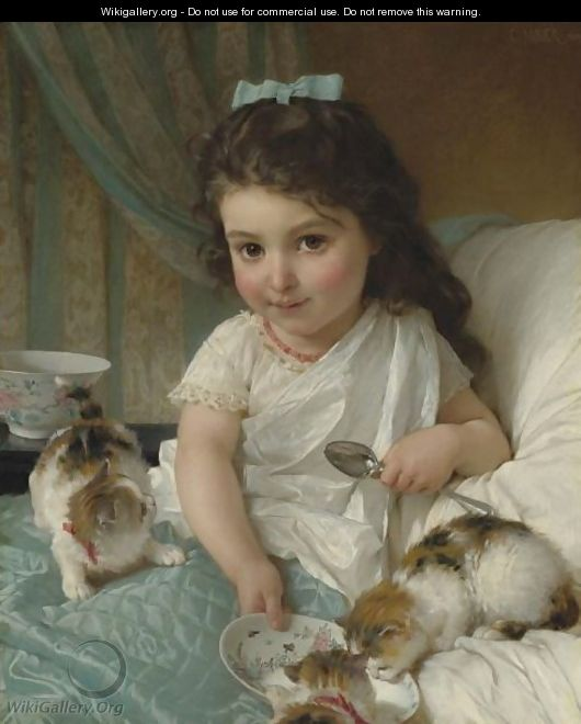 The Morning Meal - Emile Munier